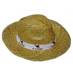 Sombreros de paja clásico oscuro