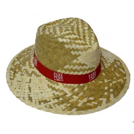Sombrero de paja Correfoc colors