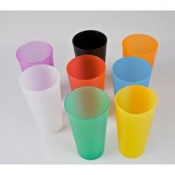 Vaso reutilizable  40cl. + 1 impresión
