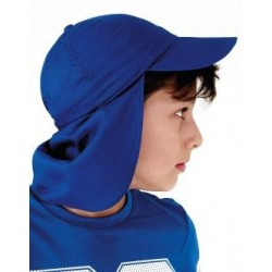 Gorra cotó nens protecció clatell