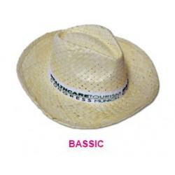 Sombrero de paja Bassic claro