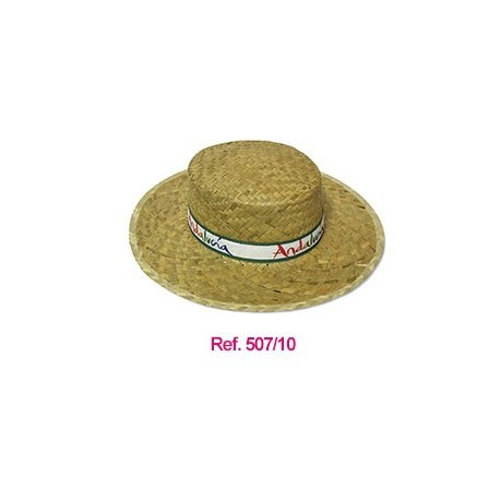 Sombrero de paja estilo cordobés