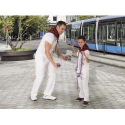 Pantaló blanc llarg infantil